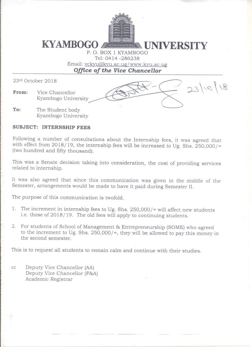 Kyambogo University Application Form 2017 18
