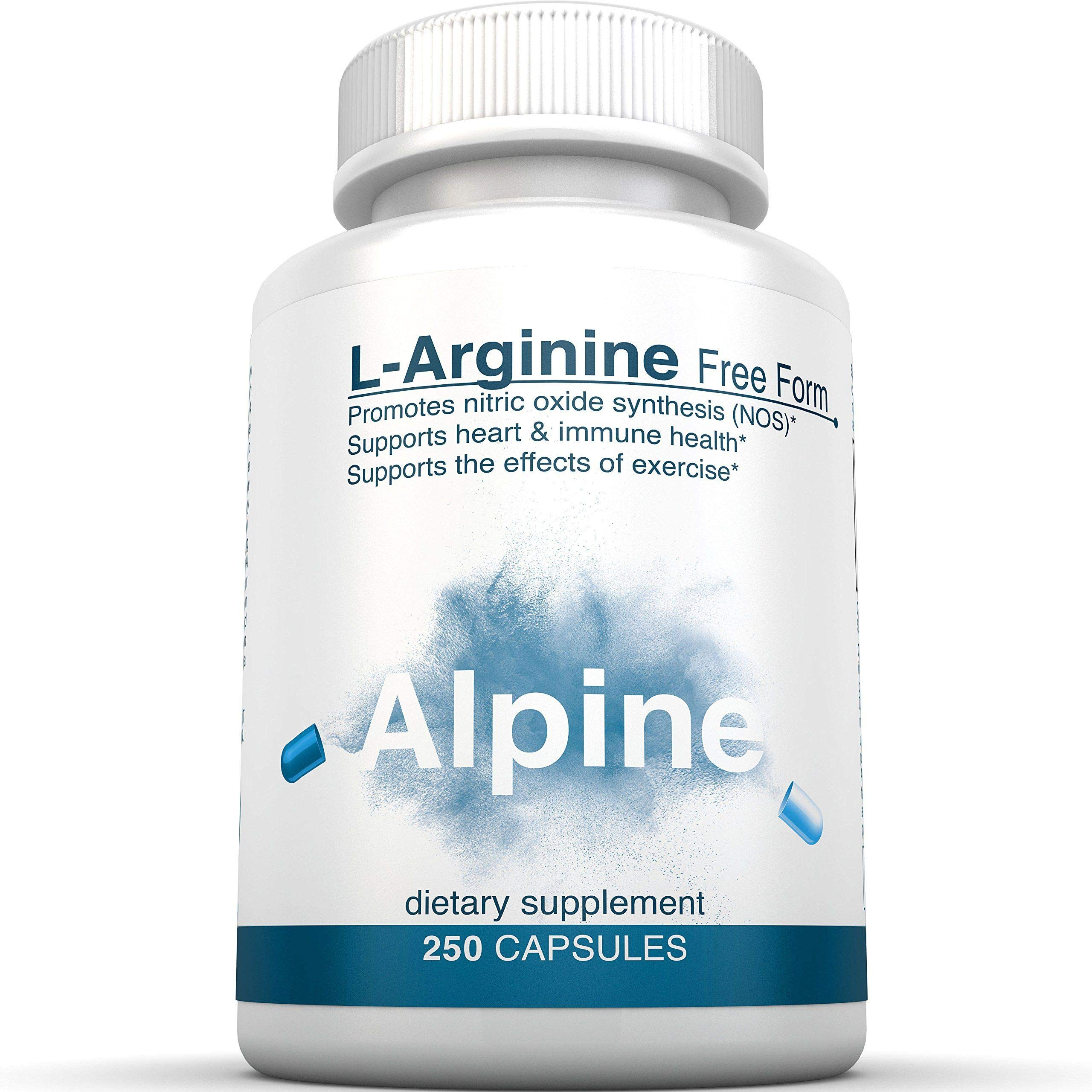 L Arginine 500mg Free Form