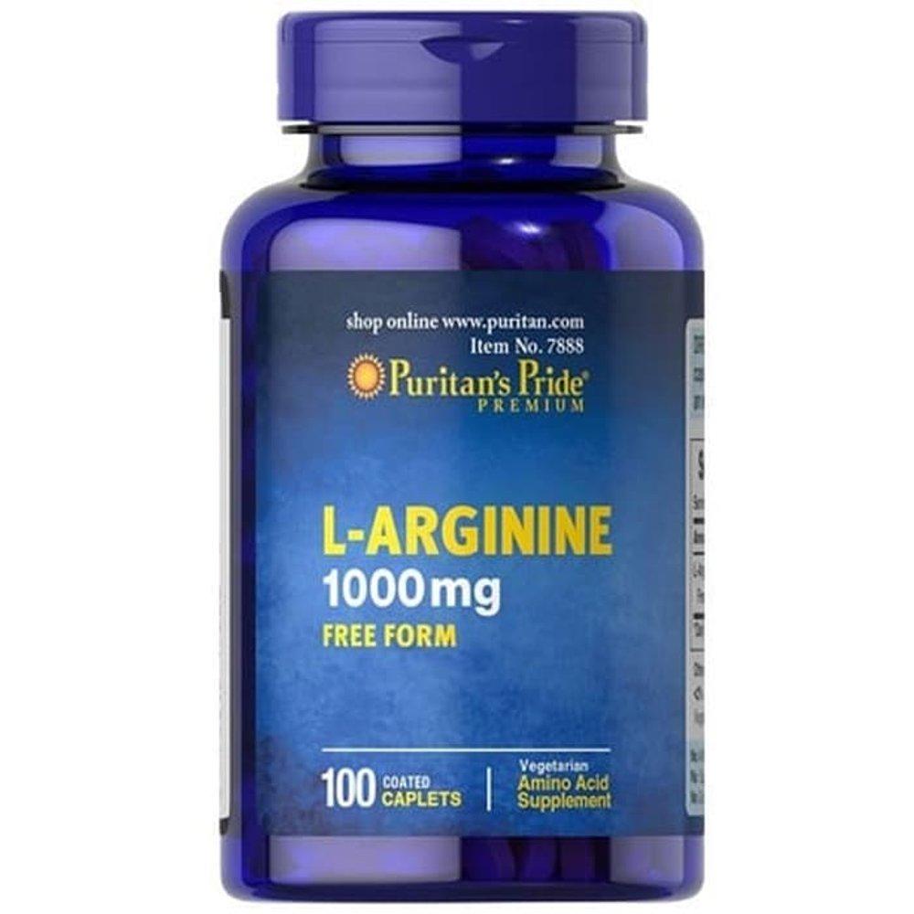 L Arginine Free Form 1000 Mg