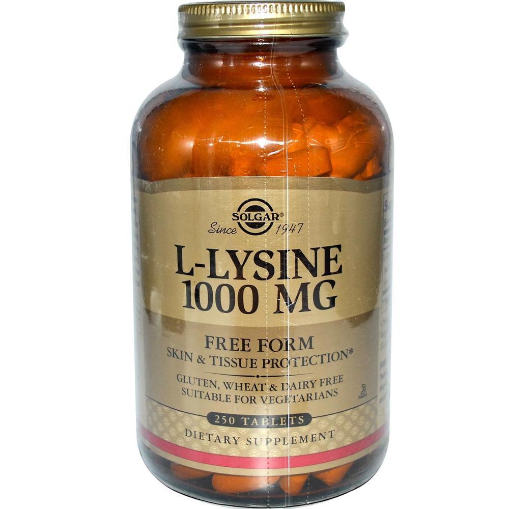 L Lysine 1000 Mg Free Form