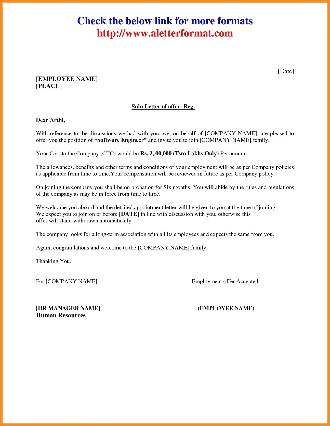 Landlord Consent Letter Format