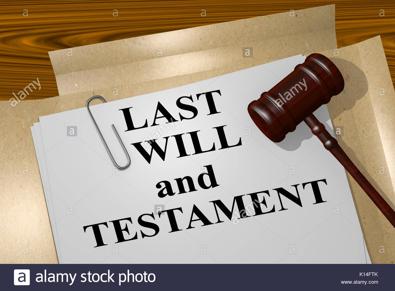 Legal Document Last Will And Testament
