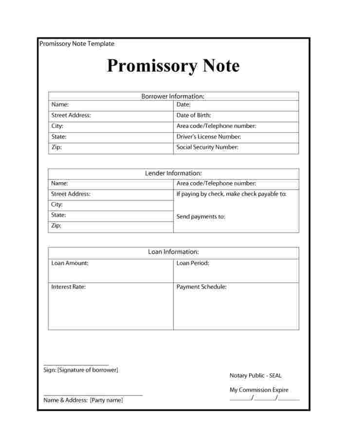Legal Forms Promissory Note Philippines