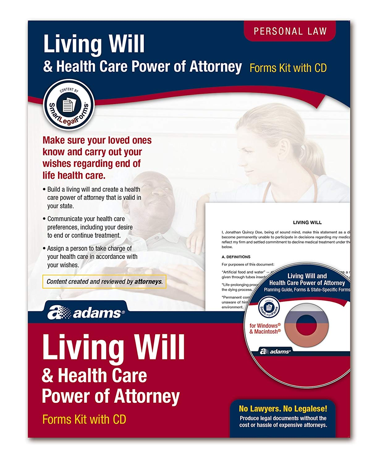 Living Will And Power Of Attorney Forms
