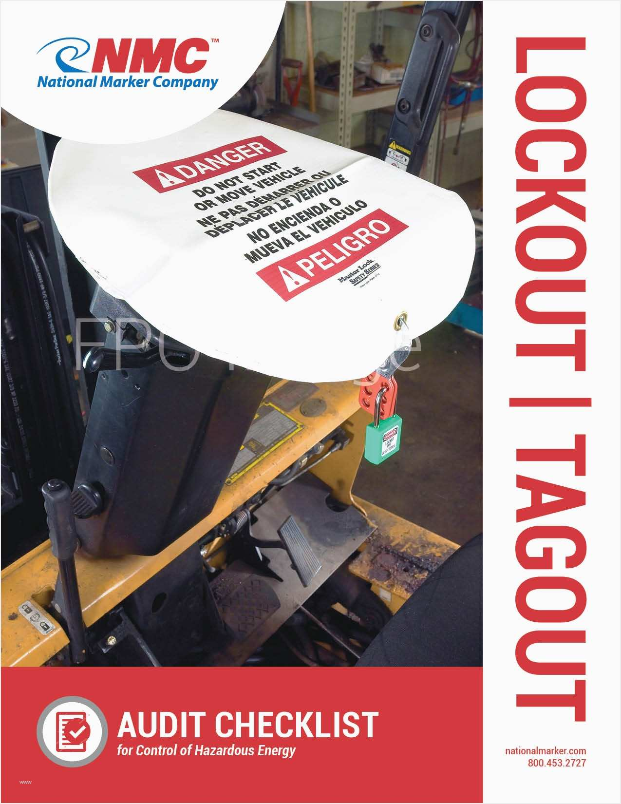 Lock Out Tag Out Procedures Template New Lockout Tagout Audit Checklist Cover