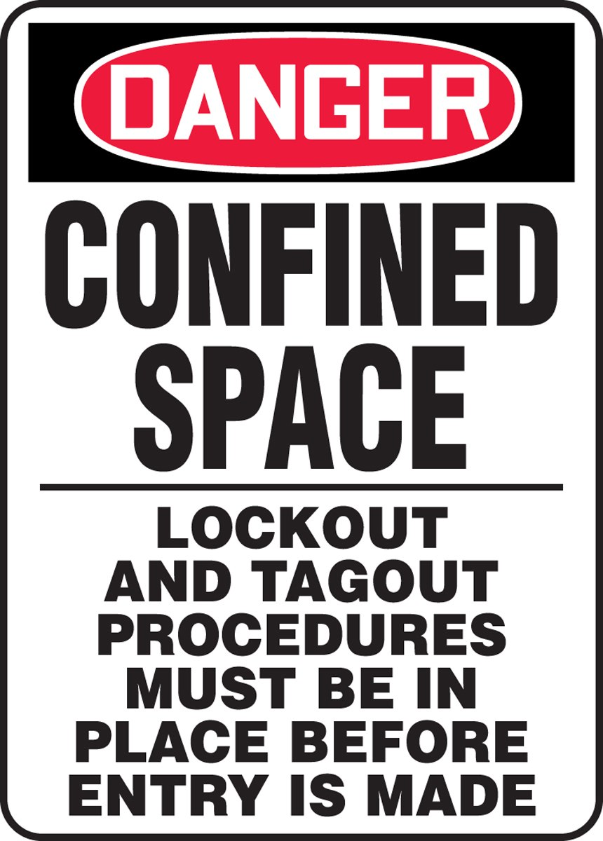 Lockout Tagout Procedures Confined Space
