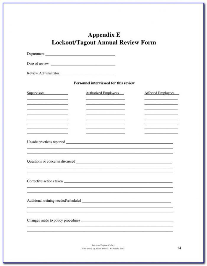 Lockout Tagout Procedures Forklift