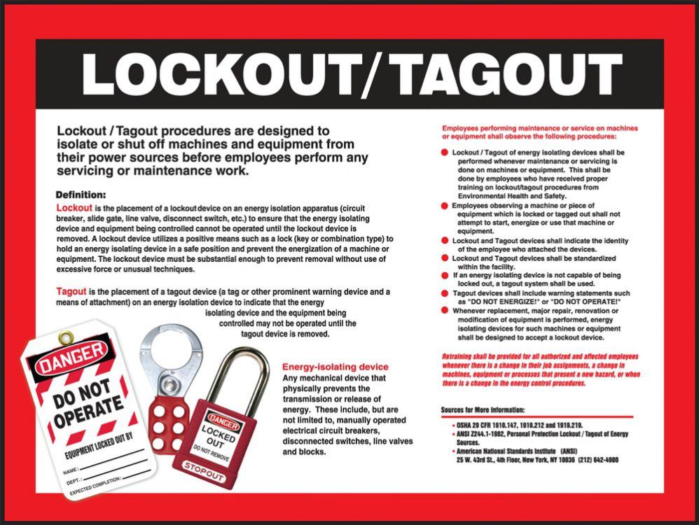 Lockouttagout Procedures For Vehicles