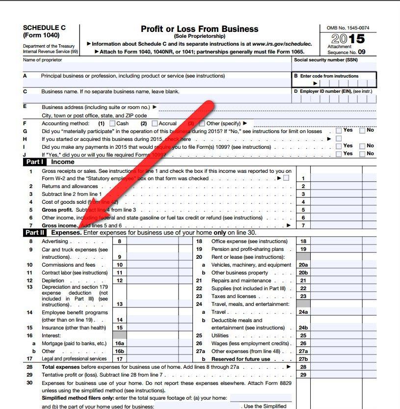 Long Form Tax Write Offs
