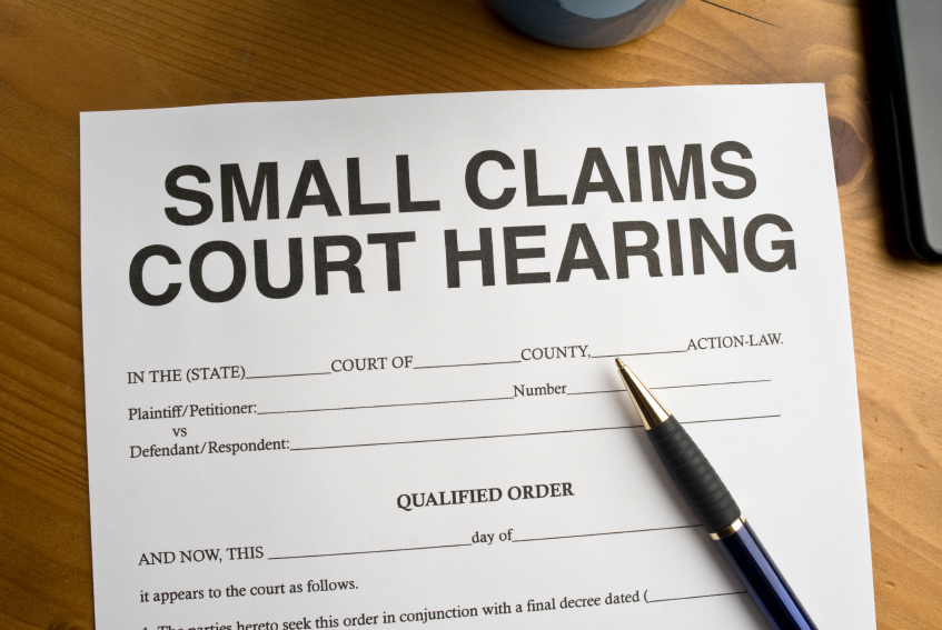 Los Angeles County Small Claims Court Forms