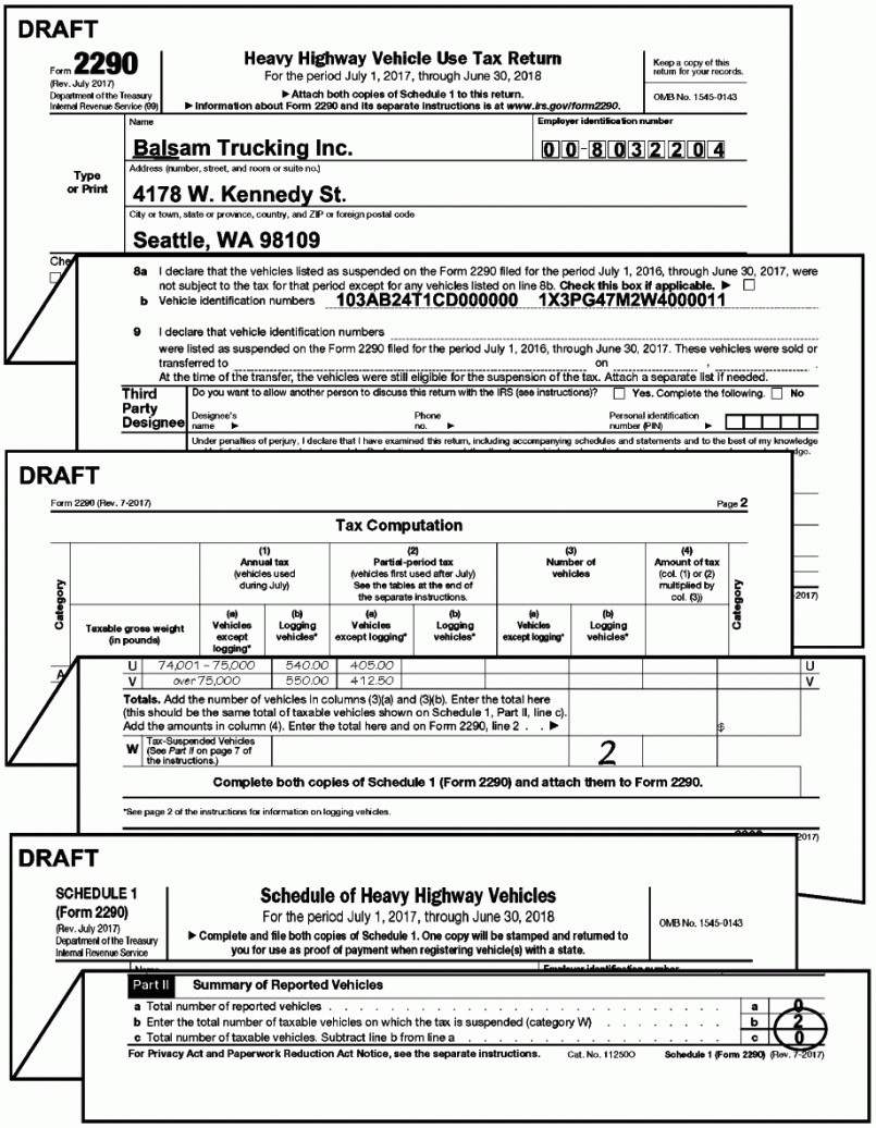 E File Form 4868 Gov Form 2290 Lovely Irs Form 2290 Schedule 1 Form Resume Examples