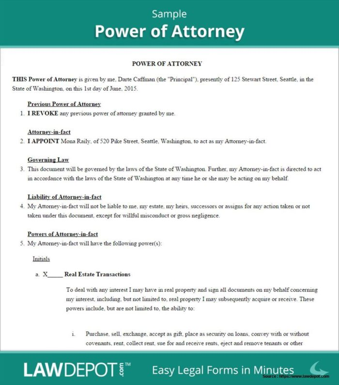 Louisiana Medical Power Of Attorney Forms