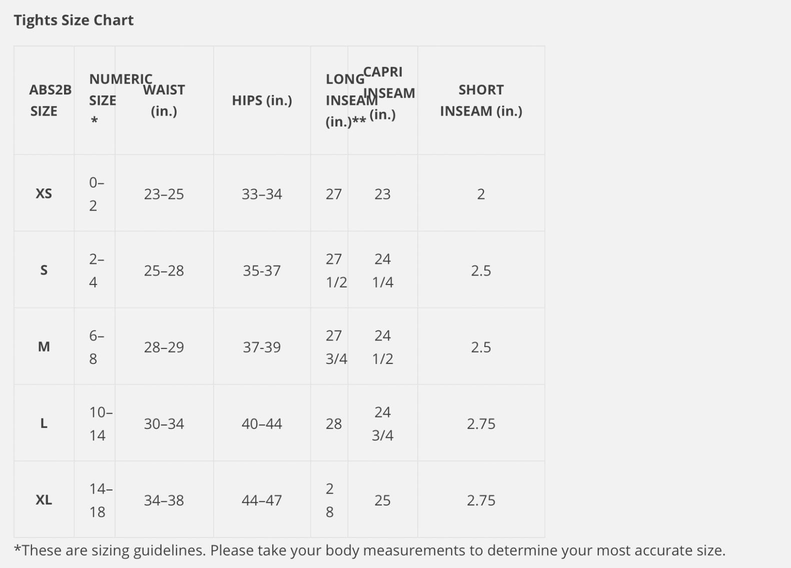 Maidenform Bra Size Chart