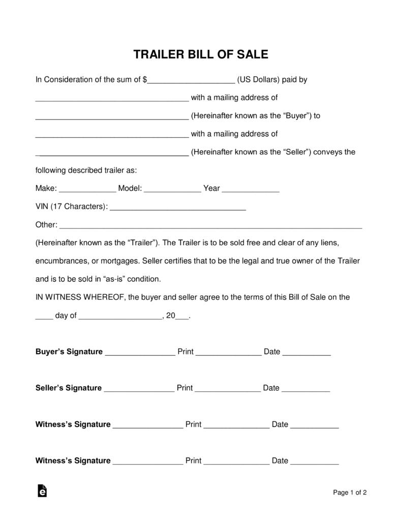 Maine Homemade Trailer Registration Form