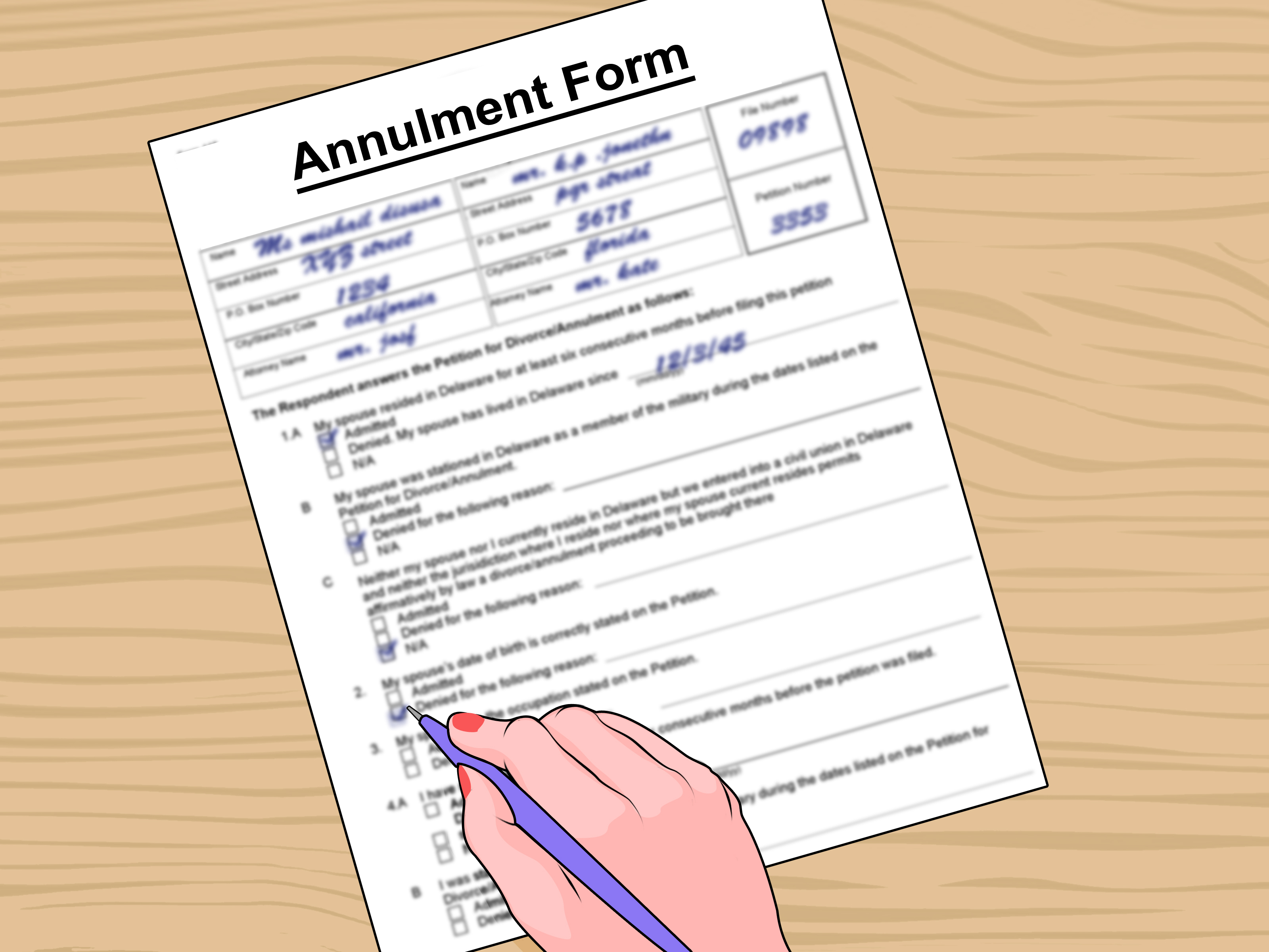 Marriage Annulment Forms Nj