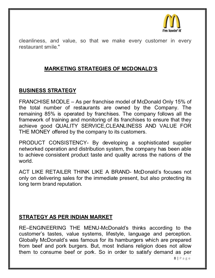 Mcdonald Franchise Application Form Malaysia