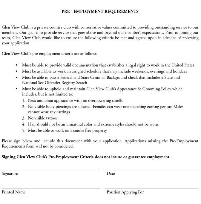 Mcdonalds Jobs Application Form