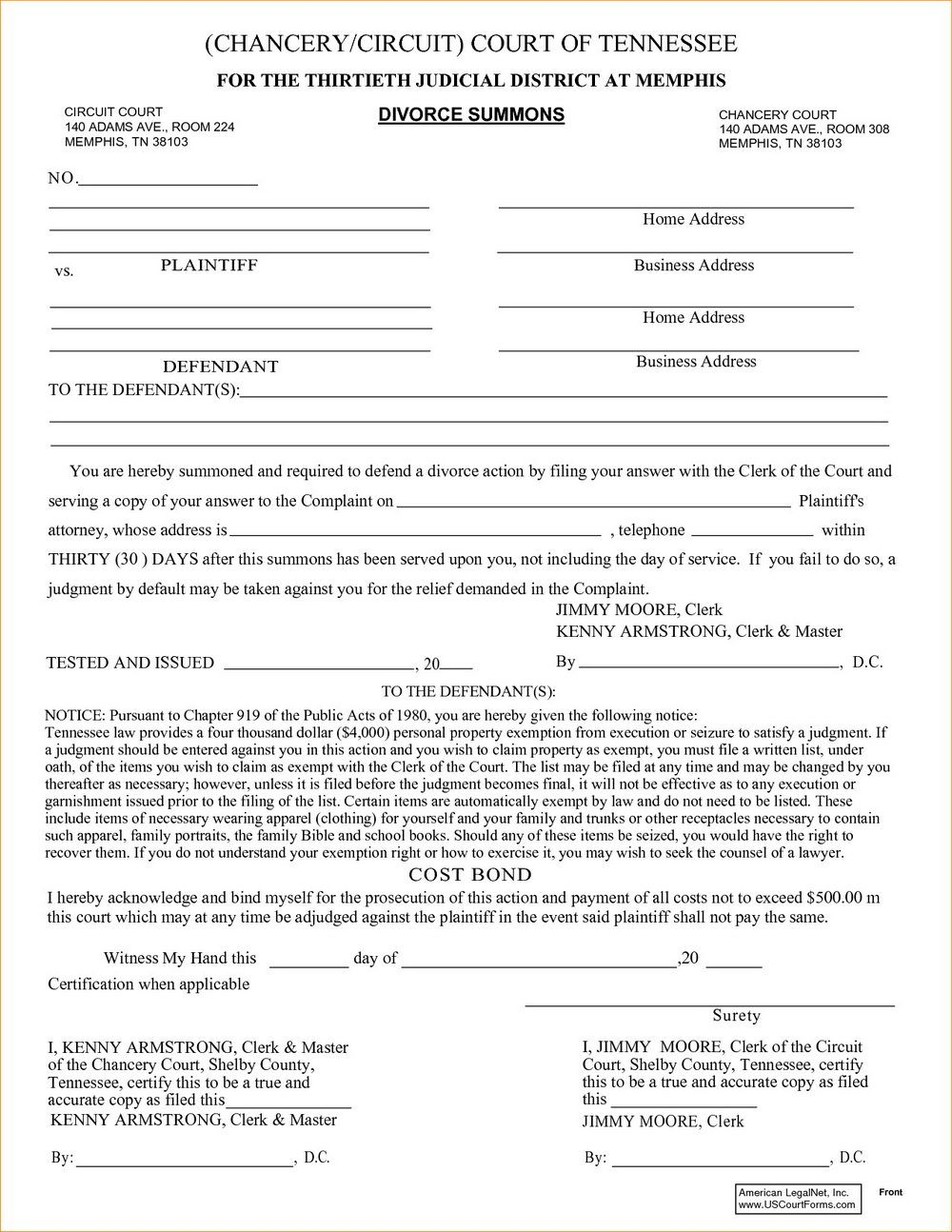 Md Divorce Filing Fees