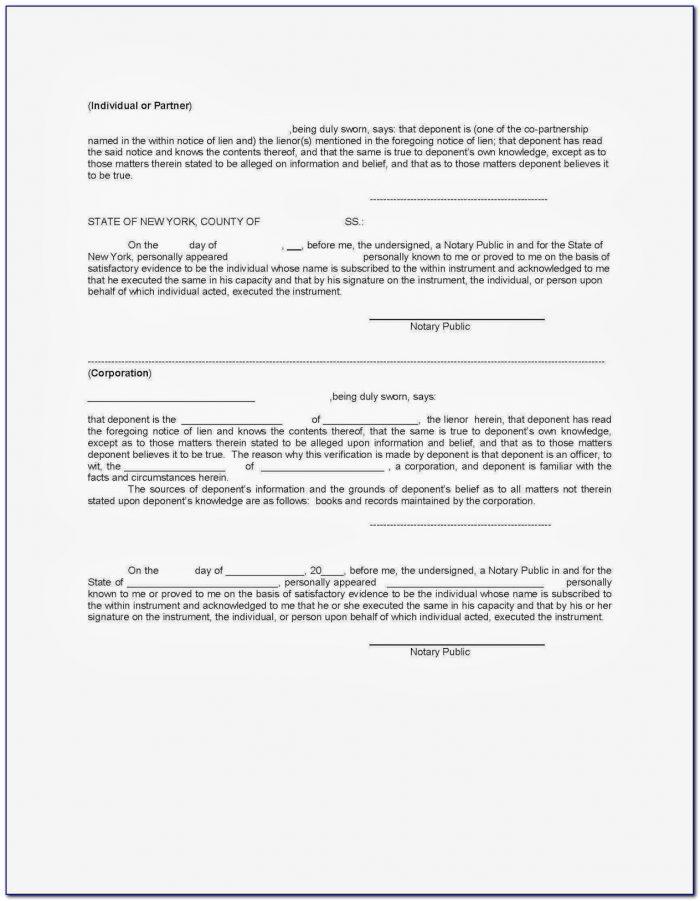 Mechanics Lien California Form 2017