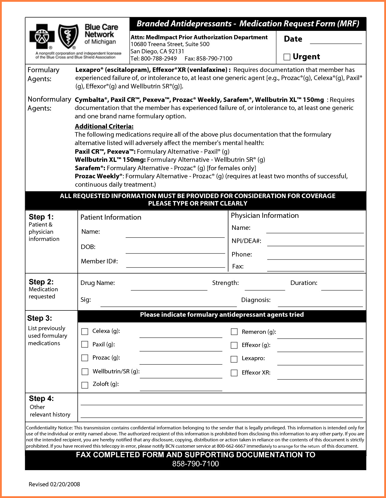 Medicaid Application Form For Ohio