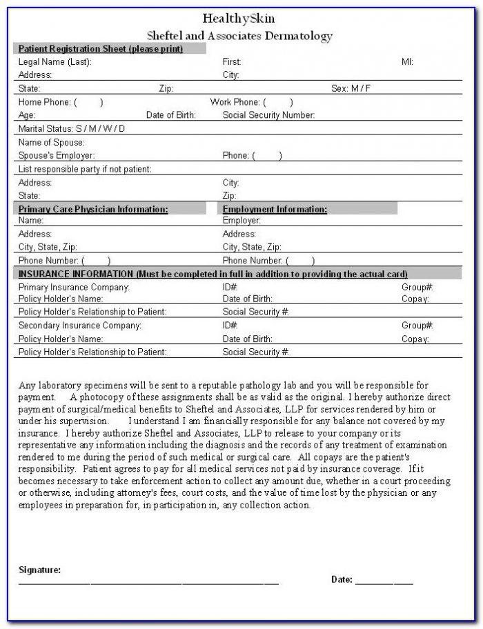 Medicare Sign Up Form