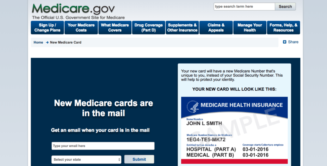 Medicare.gov Appeals Forms