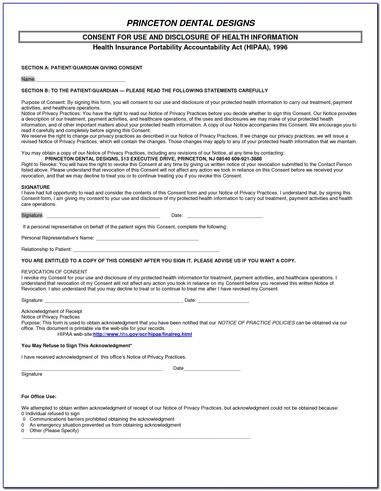 Metlife Dental Hipaa Form