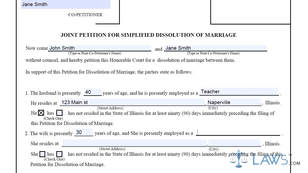Miami Dade County Simplified Divorce Forms