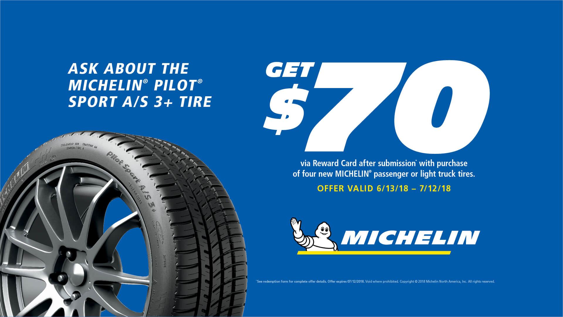 Michelin Rebate Form September 2017