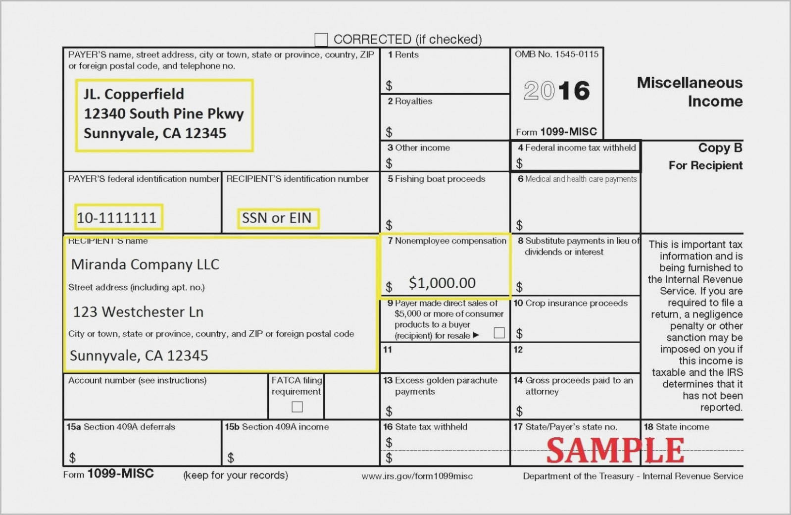 Michigan Form 1099 R
