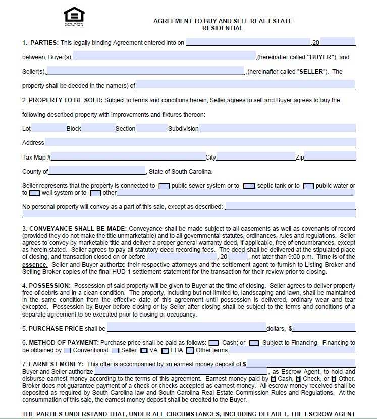 Land Purchase Agreement Michigan Good Free Real Estate Purchase Agreement Form Free Printable Ai 82803