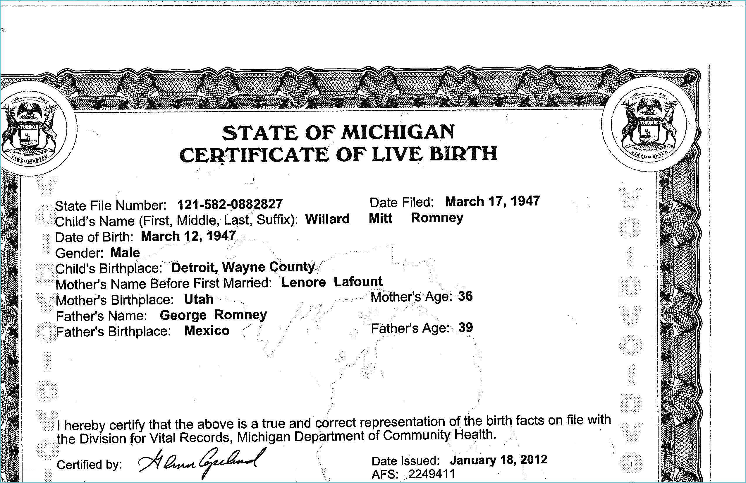 Mississippi Birth Certificate Correction Form
