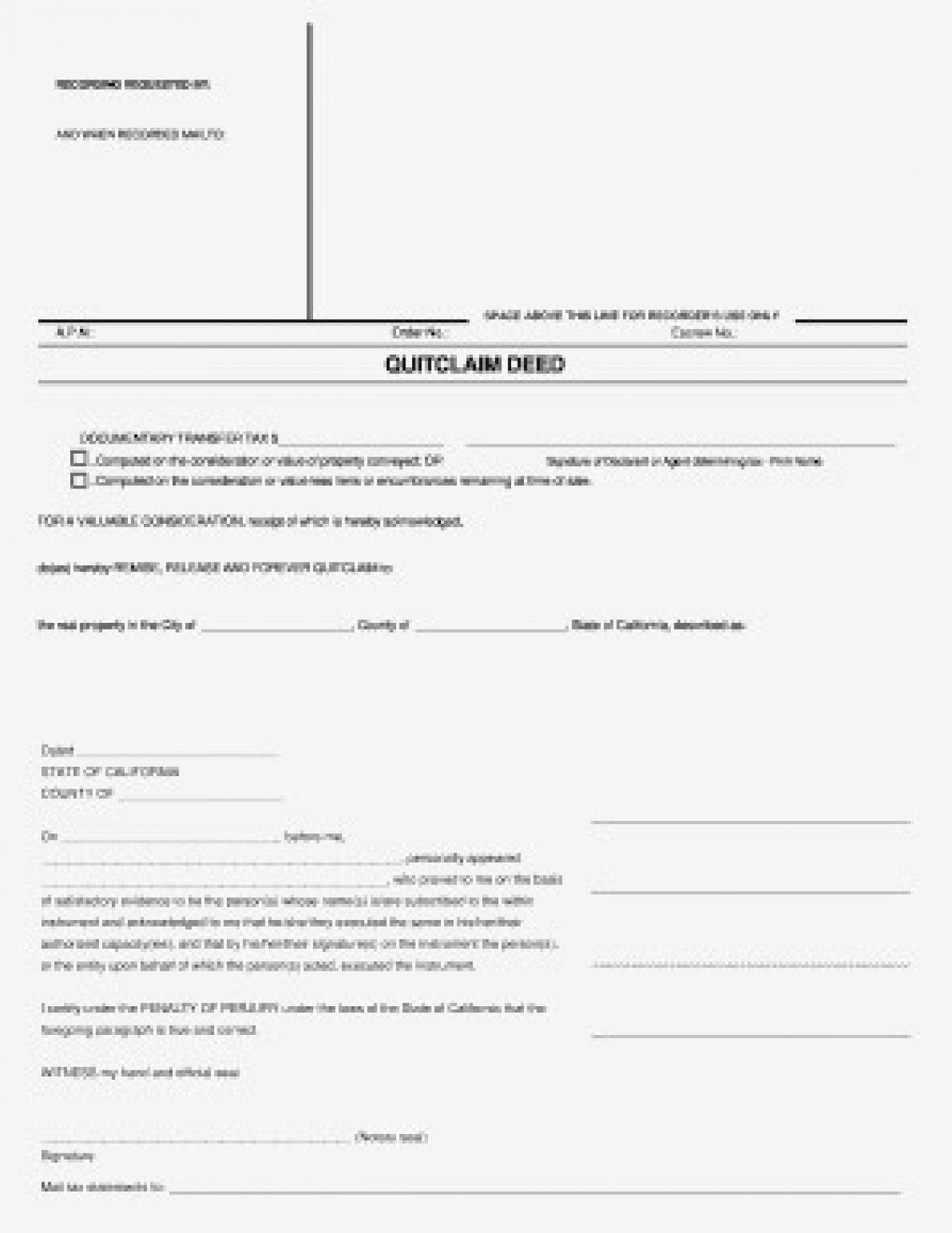 Quit Claim Deed Form Mn Unique Quick Claim Deed Form Quit Endowed Although Mn 728 942 ? Egovasia