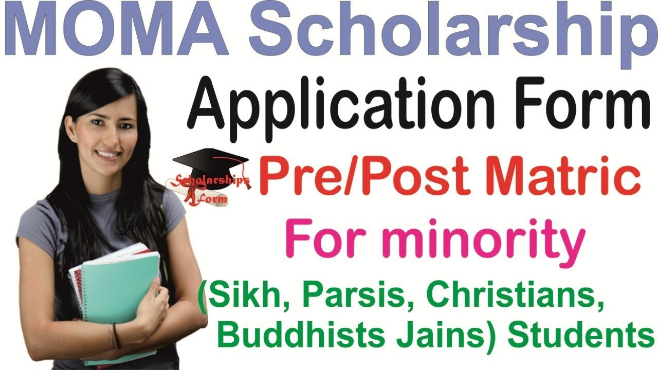 Moma Scholarship Pre Matric Application Form