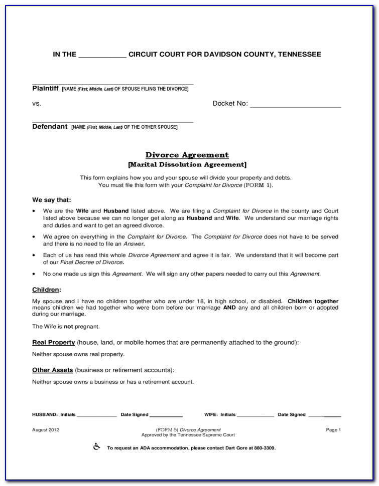 Montgomery County Ohio Marriage Dissolution Forms