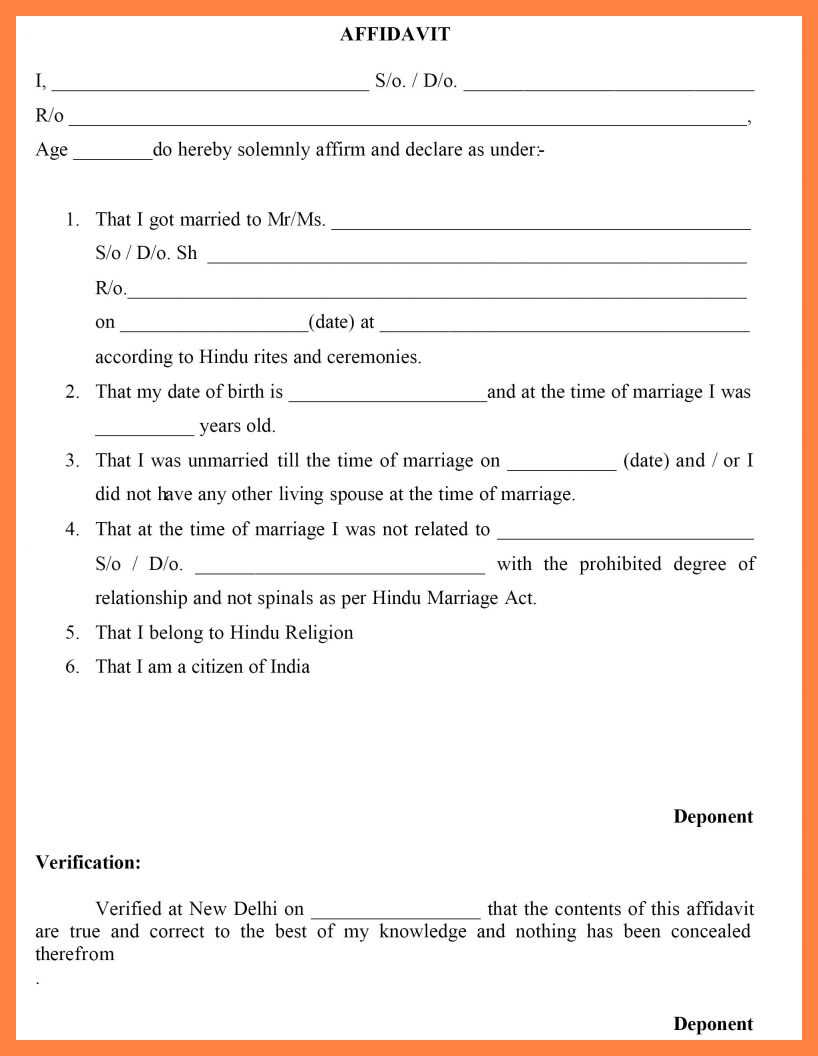 Mutual Divorce Application Form Pdf