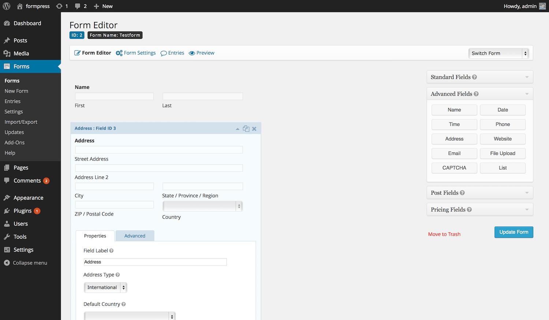 Mysql Forms Builder Linux