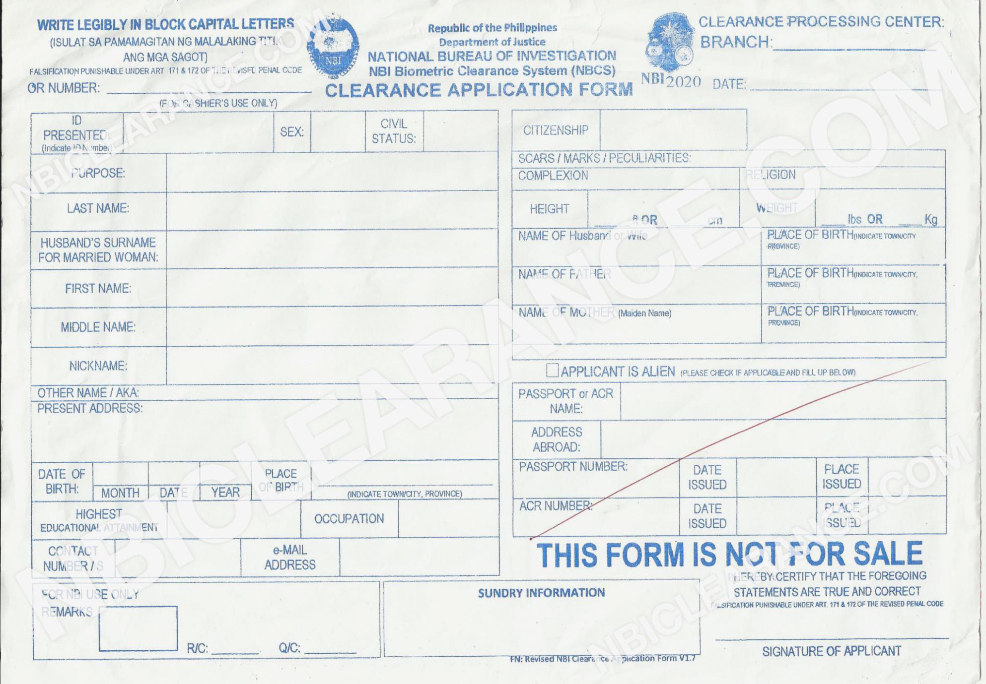 Nbi Online Registration Application