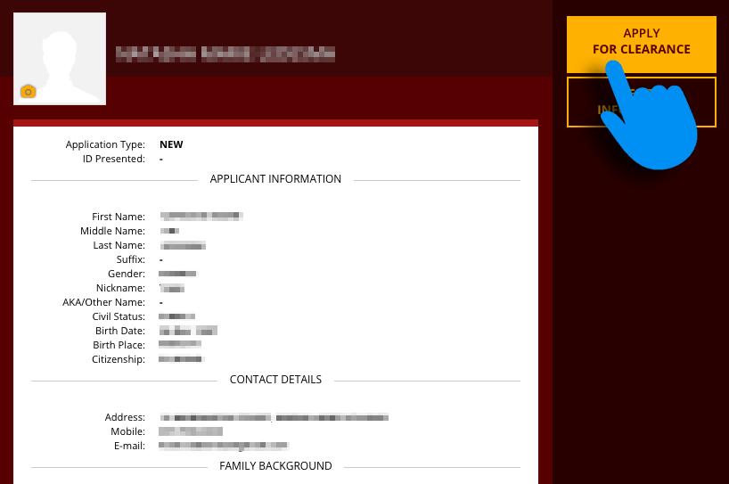 Nbi Online Registration Form 2018