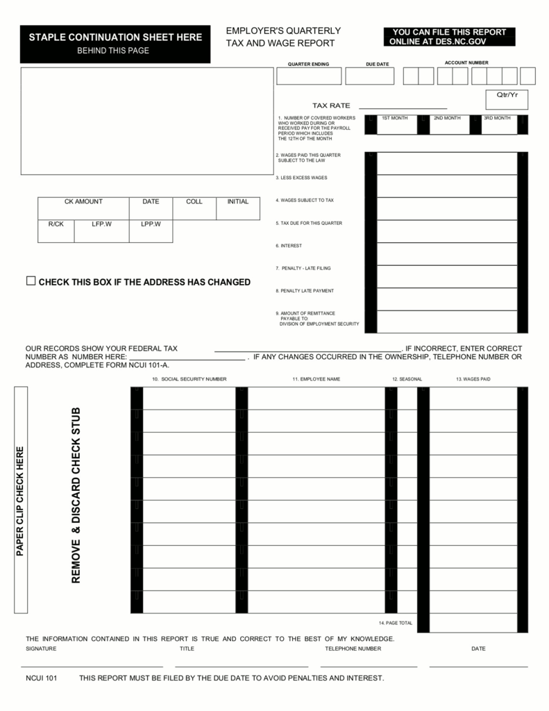 Nc 1099 Tax Form
