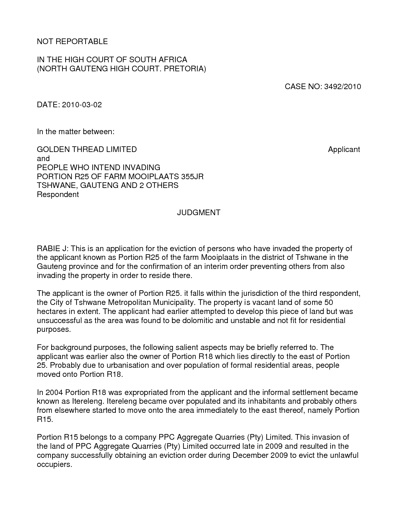 Nc Eviction Notice Form