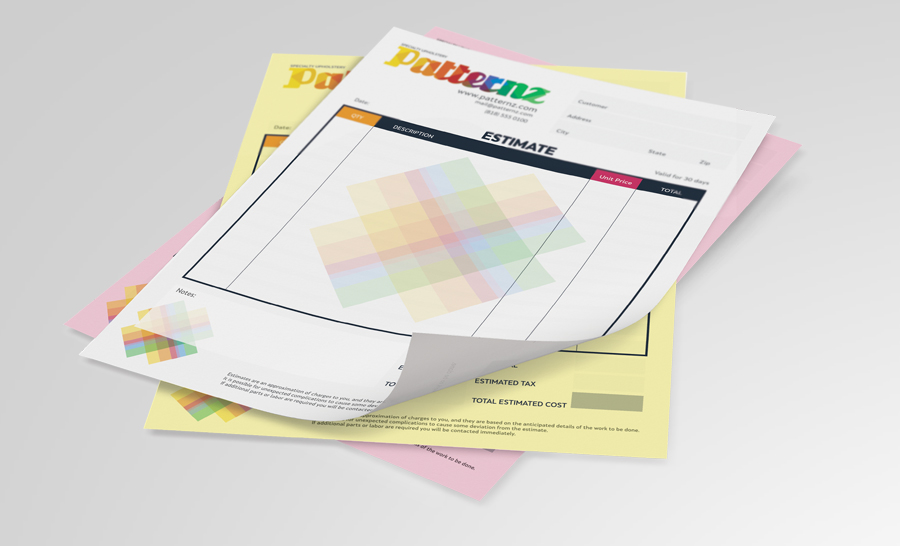 Ncr Carbonless Forms Printing