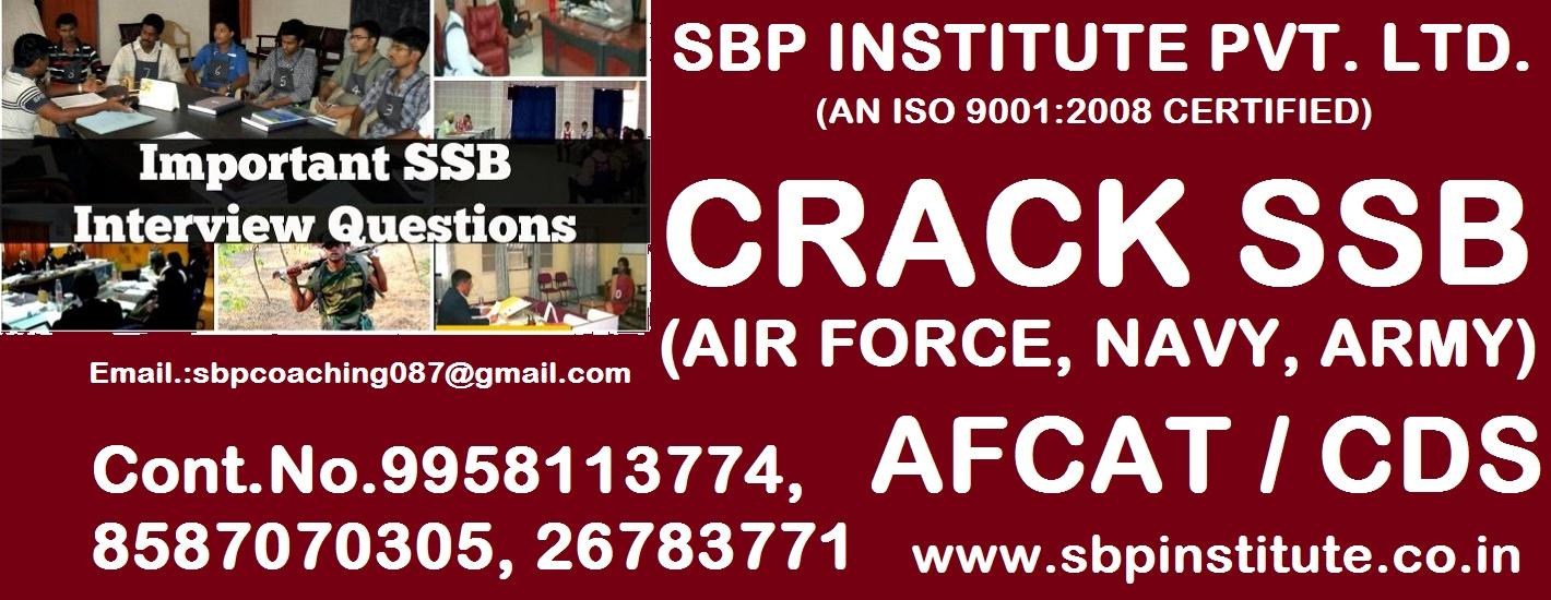 Nda Direct Ssb Online Forms