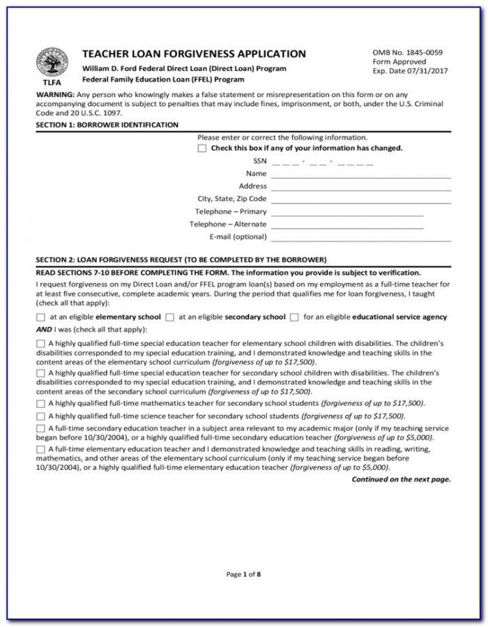 Nelnet Loan Forgiveness Forms