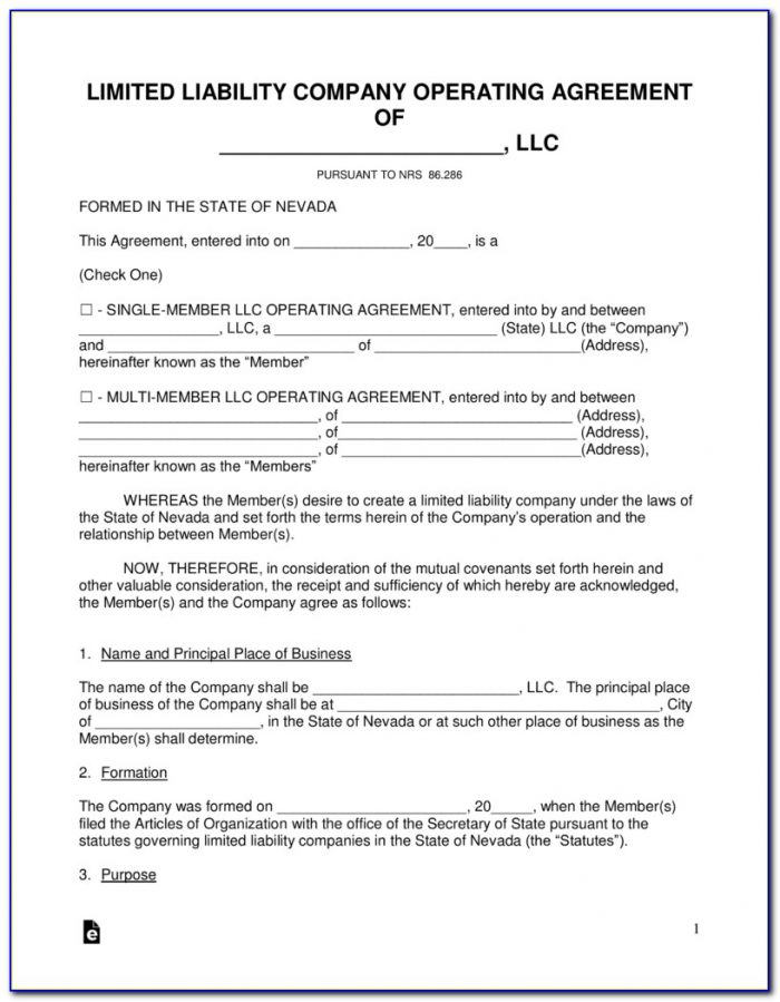 Nevada Secretary Of State Llc Forms