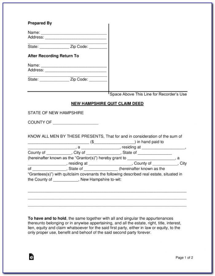New Hampshire Divorce Court Forms