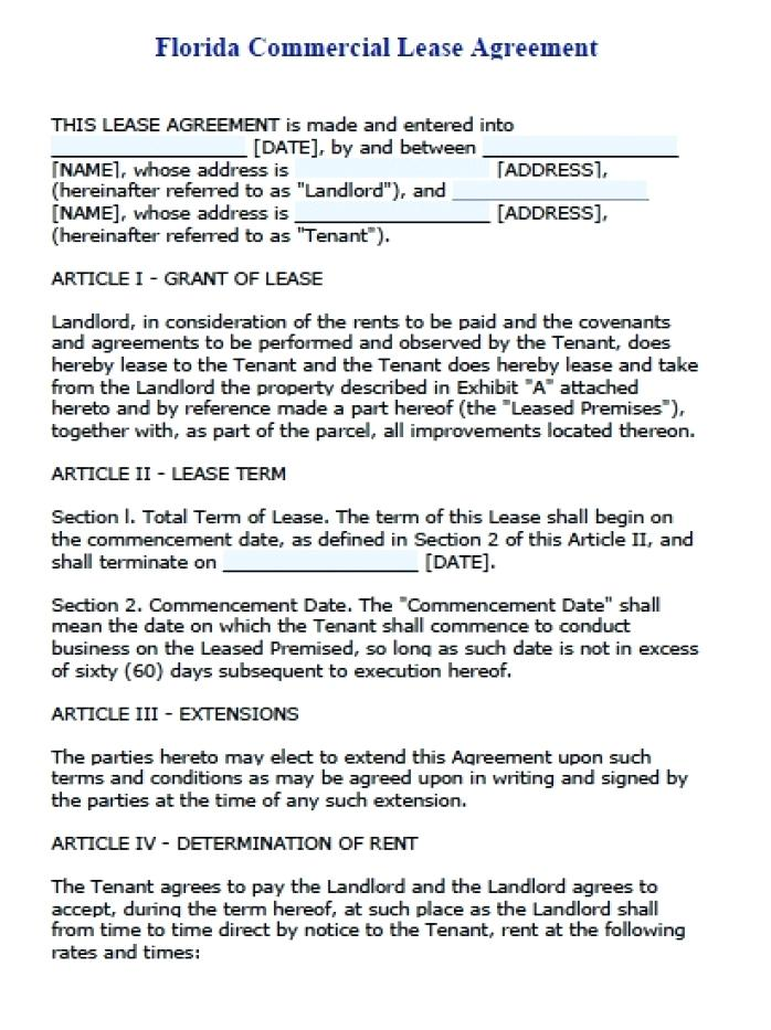 Nj Tenant Lease Agreement Form