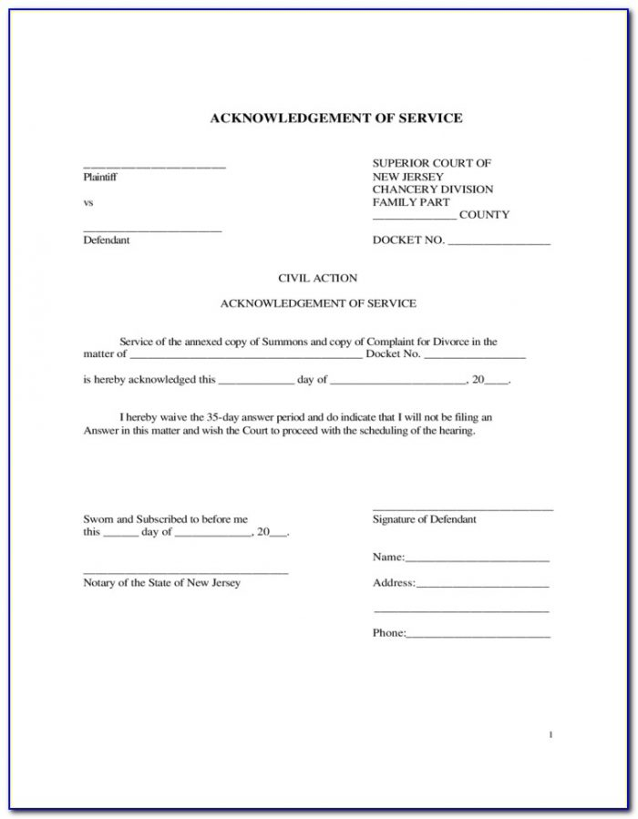 Notary Acknowledgement Form Colorado