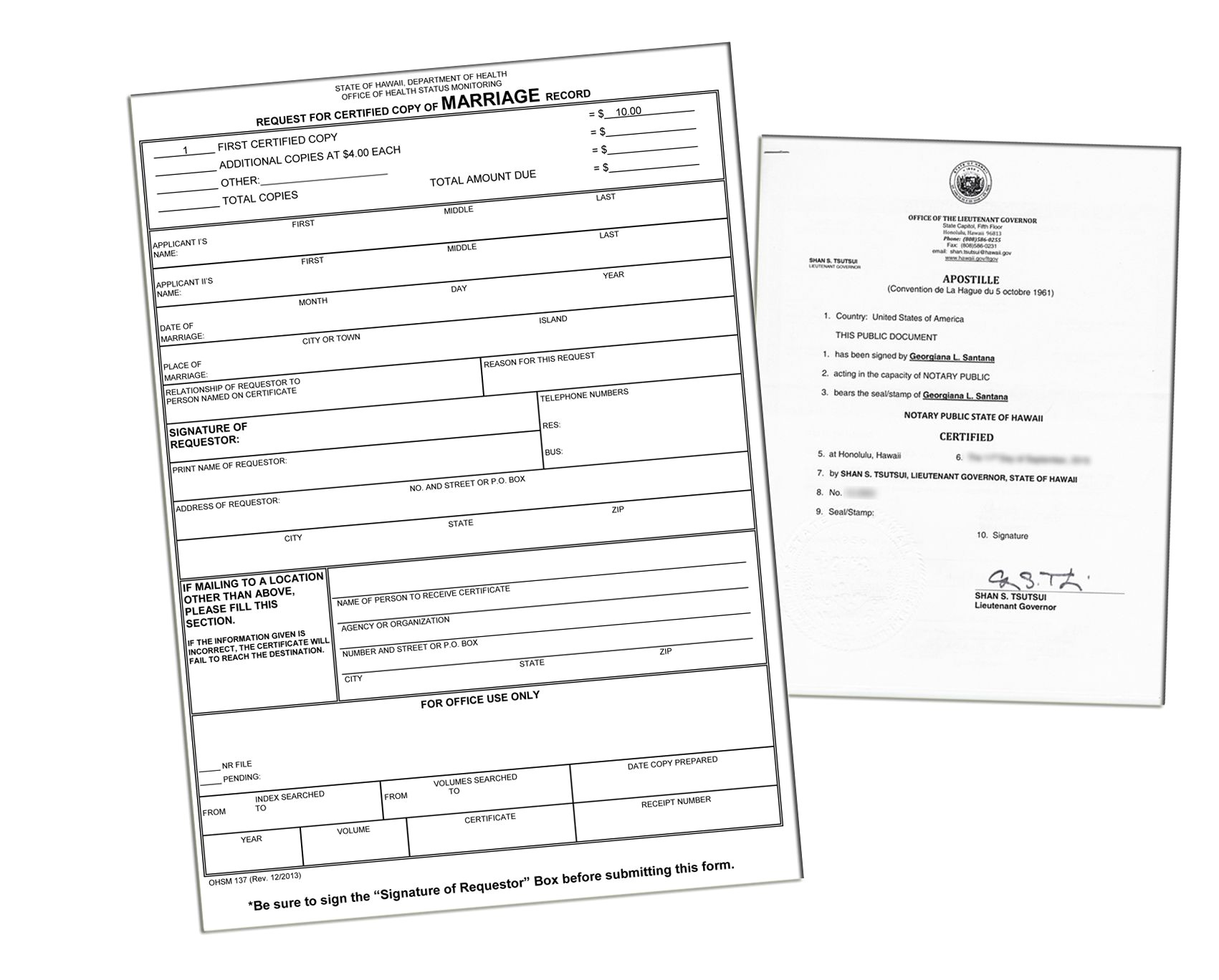 Notary Marriage Certificate Best Of Hawaii Health Department Certification Application Form You Need To