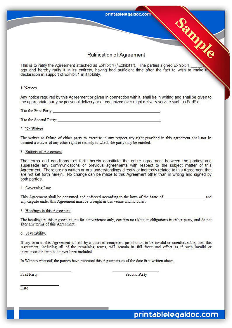 Notary Declaration Form
